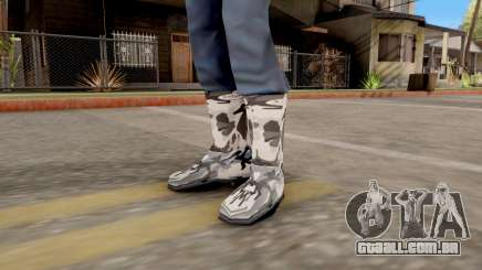 "Botas De Inverno ""Camo"" para GTA San Andreas"