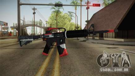 CS:GO - M4A1-S Cyrex No Silencer para GTA San Andreas