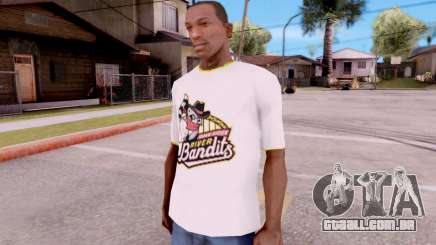 T-Shirt River Bandits para GTA San Andreas