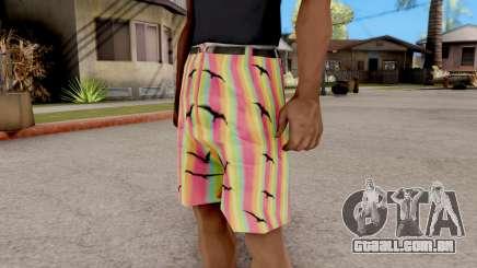 Shorts com gaivotas para GTA San Andreas