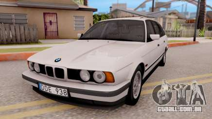 BMW 5-er E34 Touring Stock para GTA San Andreas