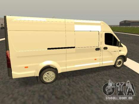 Gazela Próximo all-metal van para GTA San Andreas