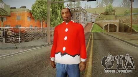 Casaco vermelho, Papai Noel para GTA San Andreas