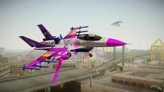 FNAF Air Force Hydra Ballora para GTA San Andreas