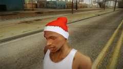 Chapéu vermelho de Papai Noel para GTA San Andreas