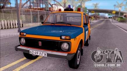 VAZ-2121 Niva Polícia da URSS para GTA San Andreas
