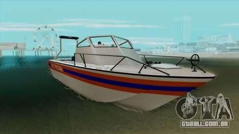 """Barco de resgate """"Vostok"""" MES para GTA San Andreas"""