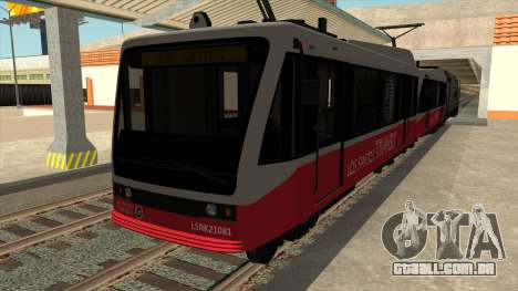 GTA V do carro Metro para GTA San Andreas