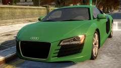 Audi R8 4.2FSI 2008 para GTA 4