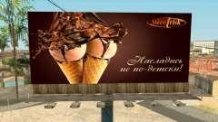 Publicidade criativa para GTA San Andreas