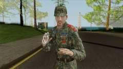 Vice-Sargento escoteiro cadet corps para GTA San Andreas