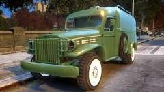 World War II Car para GTA 4