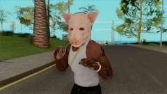 A Máscara De Porco para GTA San Andreas