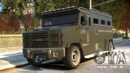 Riot Non ELS para GTA 4