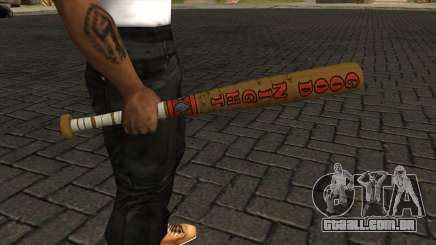 Harley Quinn Baseball Bat para GTA San Andreas