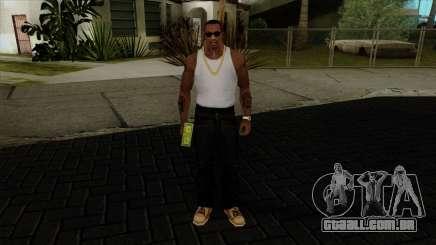 A capacidade de jogar dinheiro para GTA San Andreas