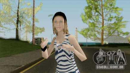 A menina no colete para GTA San Andreas