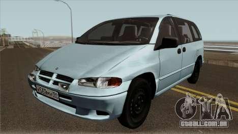 Dodge Caravan 1996 para GTA San Andreas