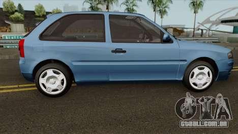 Volkswagen Gol Power para GTA San Andreas vista traseira