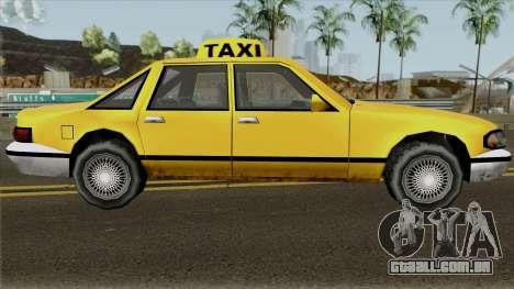 Echo Taxi Sa Style para GTA San Andreas