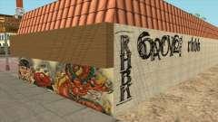 Graffiti no Distrito de Idlewood para GTA San Andreas