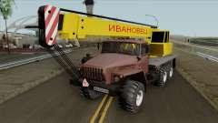 Ural 4320 Caminhão Guindaste Ivanovets para GTA San Andreas
