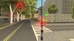 "New Street Lights ""Electrica"" para GTA San Andreas"