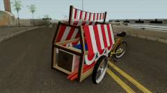 Indonesian Flag Seller Cart para GTA San Andreas