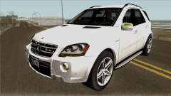 Mercedes-Benz ML 63 AMG 2009 v2.0 para GTA San Andreas
