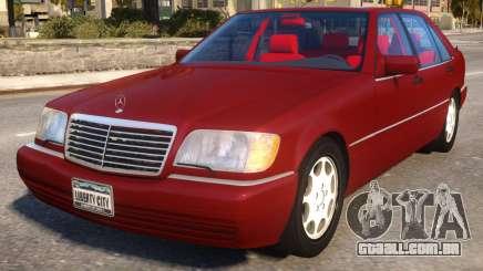 Mercedes-Benz S600L W140 para GTA 4