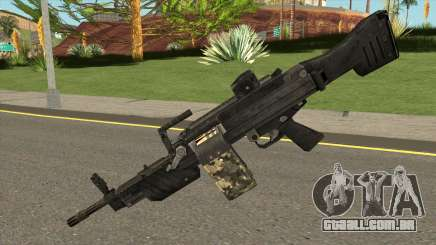 MG 4 from Warface para GTA San Andreas