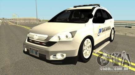 Honda CRV Emergency Management 2011 para GTA San Andreas
