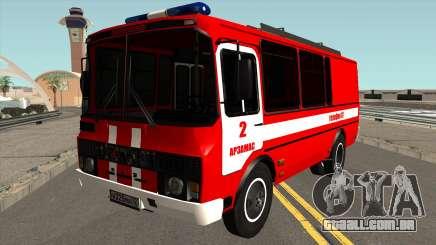 PAZ-3205 Proteção contra Incêndio para GTA San Andreas