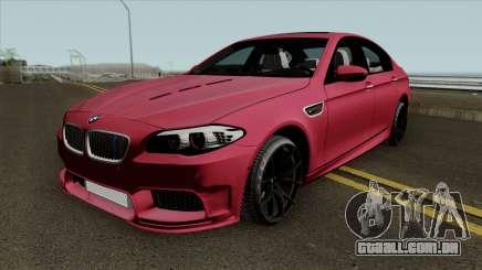 BMW M5 F10 2012 HAMANN para GTA San Andreas
