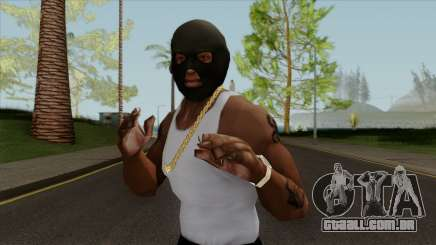 GTA V Balaclava For CJ para GTA San Andreas