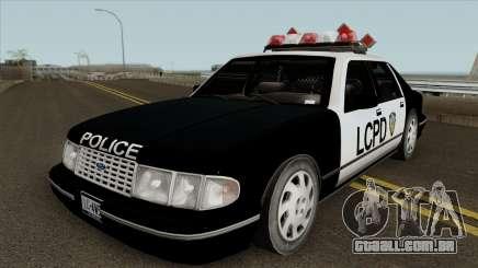 Police Car HD para GTA San Andreas