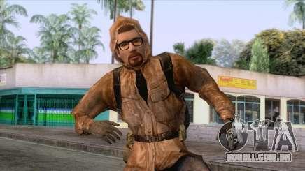 Freeman vestido como um Stalker para GTA San Andreas