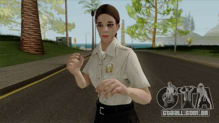 Polícia garota HD para GTA San Andreas