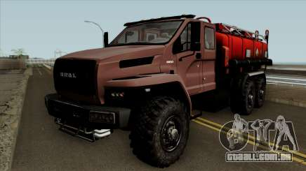 Ural Caminhão De Combustível A Próxima Neo para GTA San Andreas