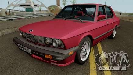 BMW M5 1985 para GTA San Andreas