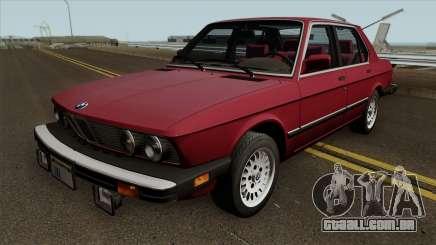 BMW 535i (e28) 1985 US-spec para GTA San Andreas