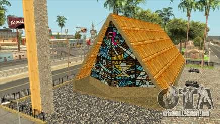 Igreja com telhado de colmo em Jefferson para GTA San Andreas
