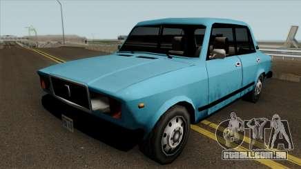 VAZ 2107 no GTA SA para GTA San Andreas
