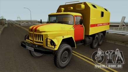 ZIL-131 gás serviço de Emergência da Ucrânia para GTA San Andreas
