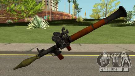 Rocket Launcher para GTA San Andreas