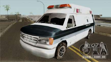 Carcer City Ambulance para GTA San Andreas