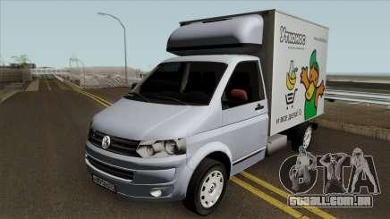 Volkswagen Transporter T5 Box para GTA San Andreas