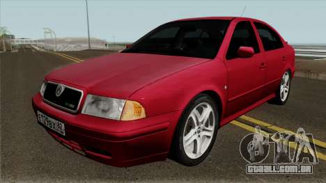 Skoda Octavia Liftback para GTA San Andreas