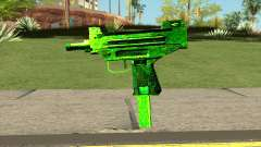 Retextured Uzi para GTA San Andreas