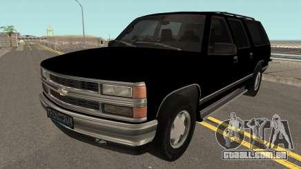 Chevrolet Suburban GMT400 1998 FBI para GTA San Andreas